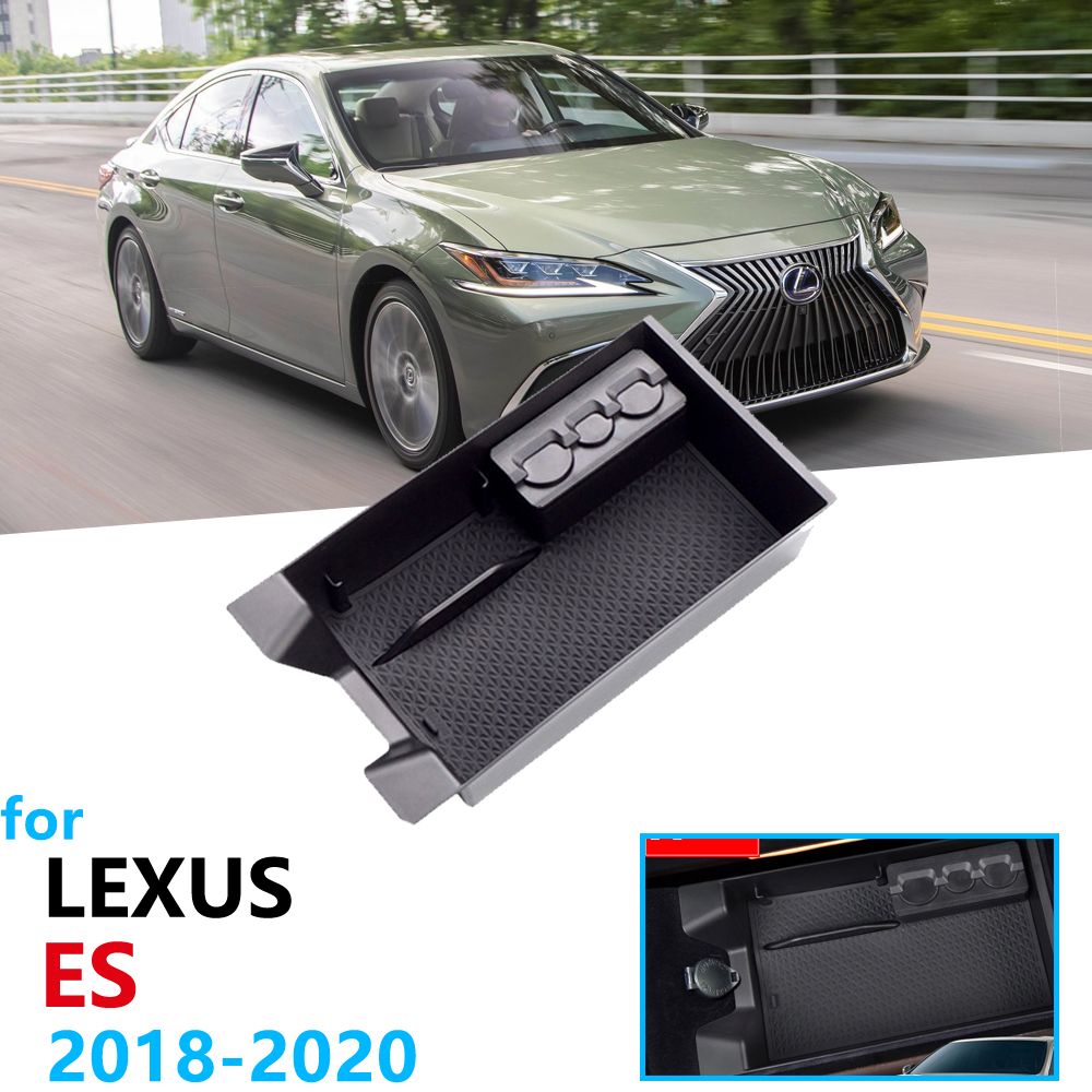 Car Organizer Accessories For  LEXUS ES 2018 2019 2020  Armrest Box Storage Tidying ES200 ES250 ES300h ES350 200 250 300h 350