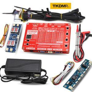 TKDMR New Panel Test Tool LED LCD Screen Tester for TV/Computer/Laptop Repair Inverter Built-in 55 Kinds Program free shipping(China)