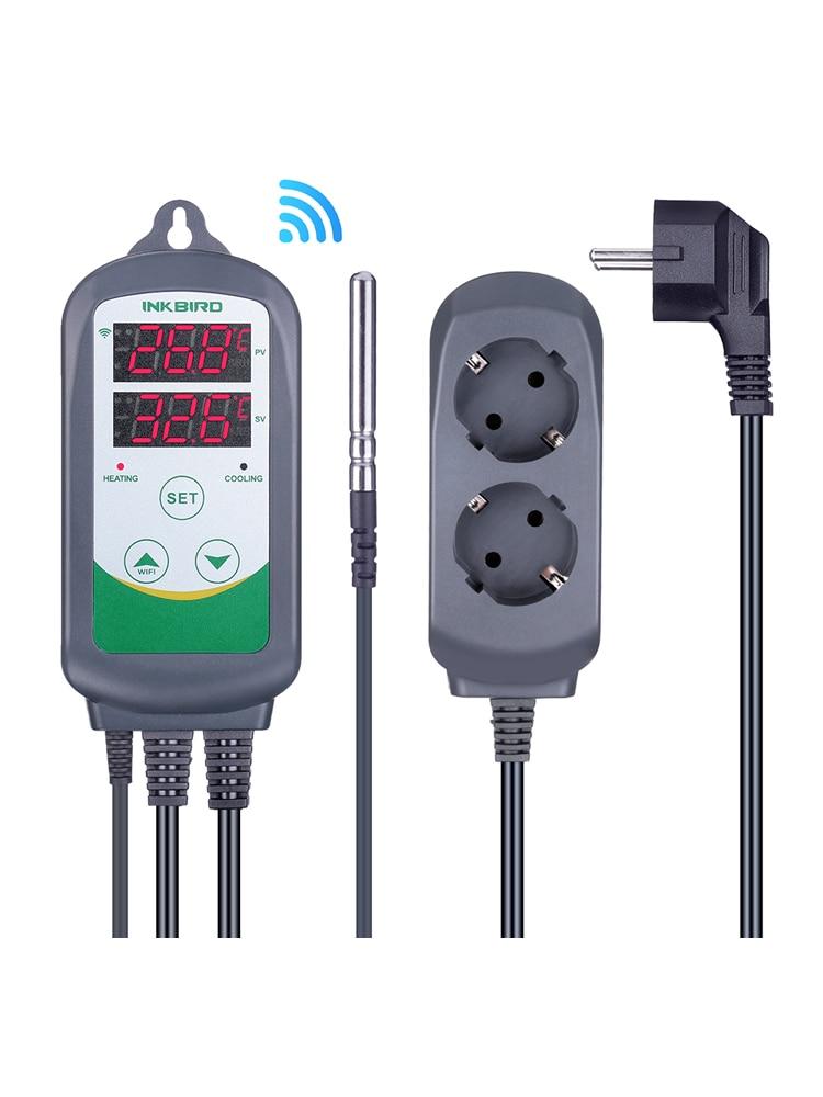 Inkbird Outlet Plug Temperature-Controller Homebrewing ITC-308 WIFI Digital W/Sensor
