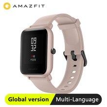 Huami النسخة العالمية Amazfit بيب لايت ساعة ذكية مع 45 يوما الاستعداد لتحديد المواقع خفيفة الوزن ساعة ذكية