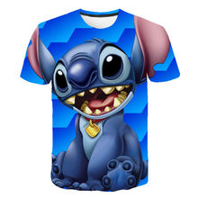Summer top T-shirt clothing 3D printing boy girl cartoon children's clothing fashion casual personality T-shirt clothing