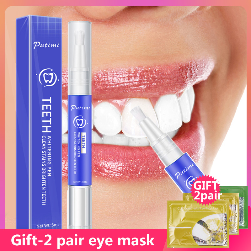 Professional Teeth Whitening Pen Cleaning Serum Removes Plaque Stains Dental Care Tools Oral Hygiene Tooth Whitenning Gel Brush