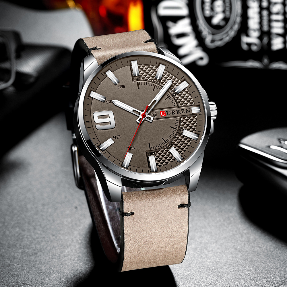 H6c01bab88fb0401885e50537f545a8adc Top Brand Luxury Business Watch Men CURREN Watches