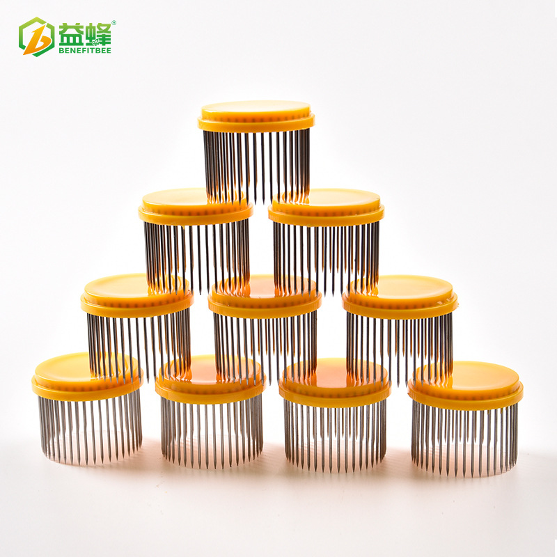 Profession Production Beekeeping Tools Dot Matrix Queen Bee Cage Buckle King Maker Separated Queen Bee Cage Bees Anti-pao Pian B