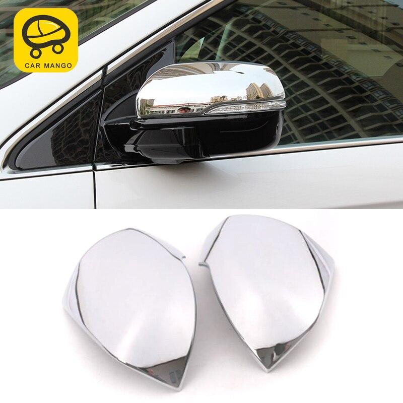 CarManGo pour Ford Edge 2015 voiture style rétroviseur couverture protège-garniture cadre autocollant accessoires extérieurs