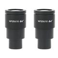 2 шт Agnicy WF25X стерео микроскоп широкоугольный окуляр большое поле зрения высокая точка зрения 25x