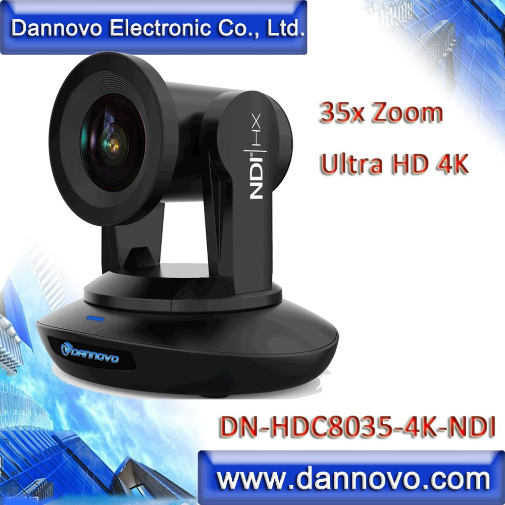 Best Chance for  Free Shipping: DANNOVO NDI 4K 35x Zoom PTZ Video Camera for Broadcasting Live Streaming SDI HDMI US