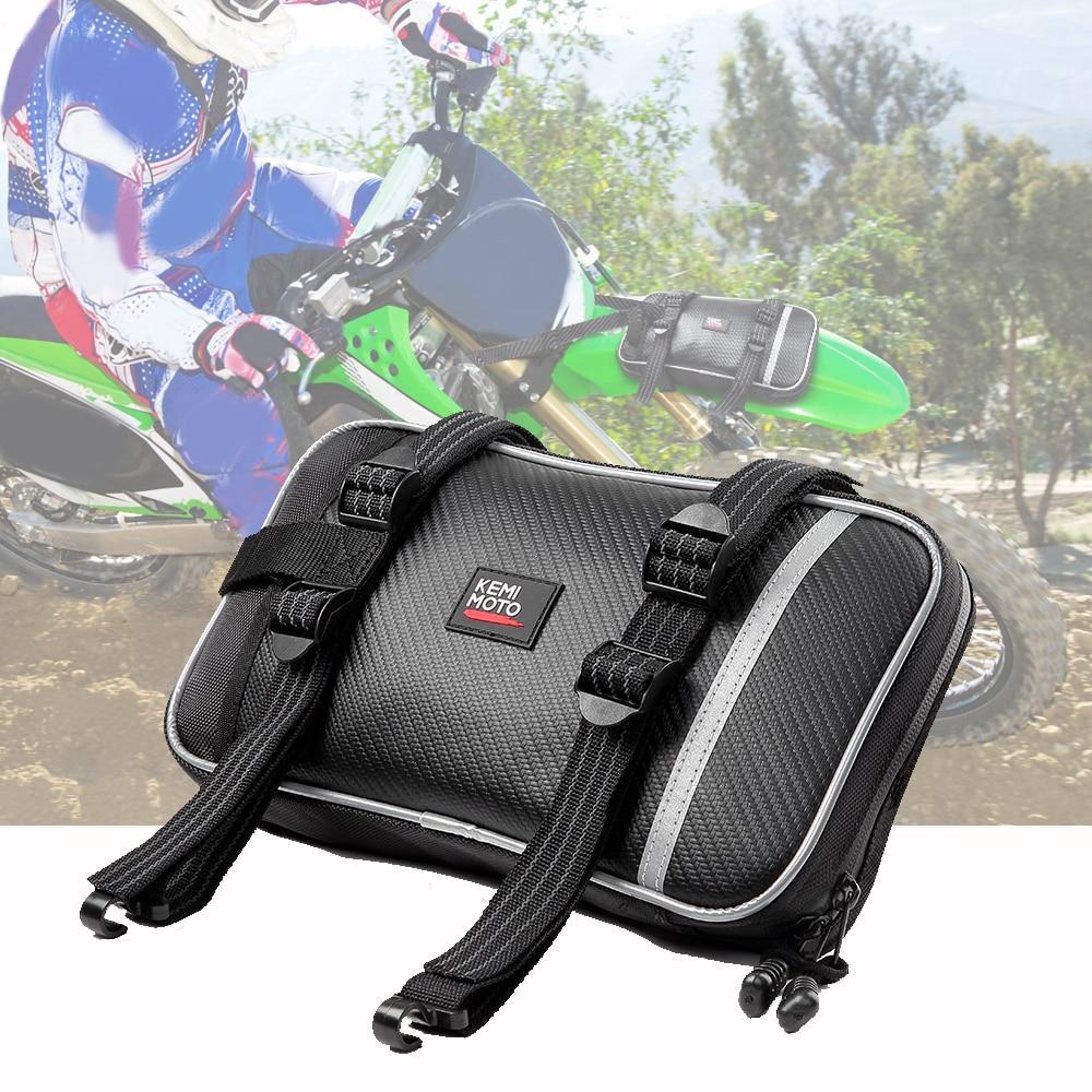 Универсальные Сумки для мотокросса, передние Брызговики, сумки для грязевых велосипедов, упаковка инструментов для Yamaha TTR 125 yzf250 yz 85 YFZ450 ttr 125