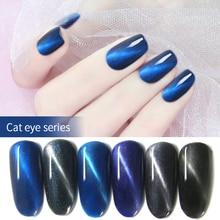 Cat Eye Nail Polish Magnetic Phototherapy QQ Nail Glue Gel Polishing Fashion Girls 10ml все цены
