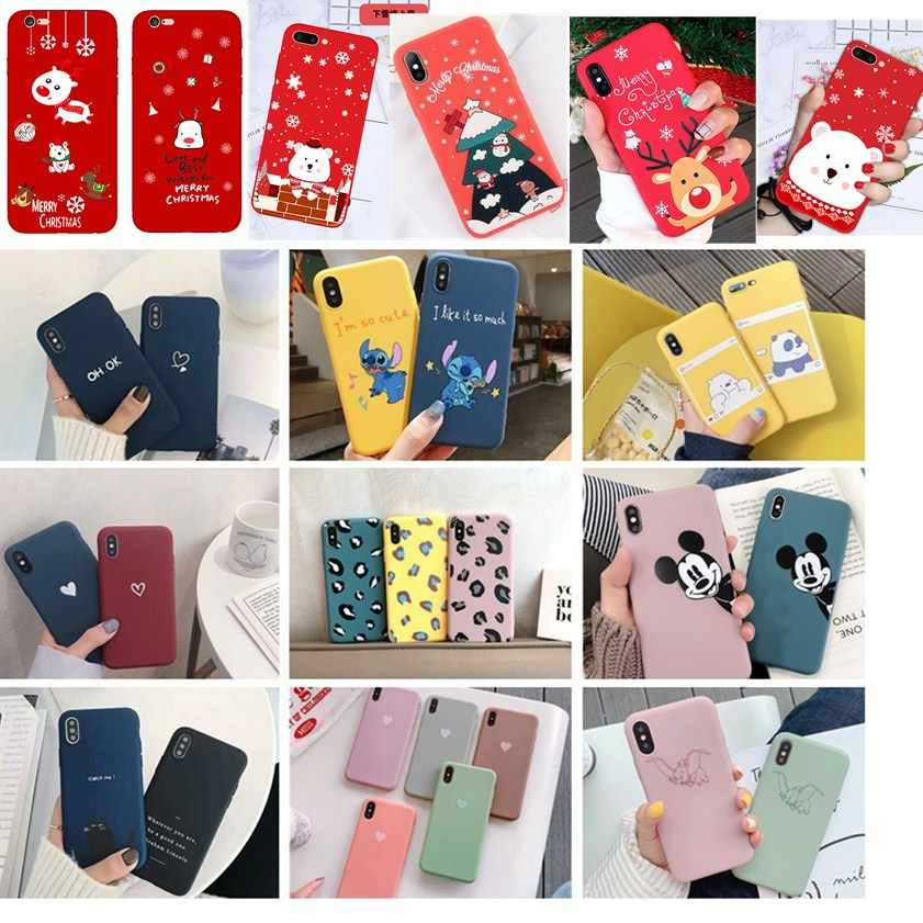Silicon stitch Funda For Iphone 7Plus 8plus TPU Soft Phone Case Cover for iPhone 8 7 Plus 6 6S X XS MAX SE XR 10 Cover Coque
