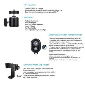 Image 5 - Ahtapot esnek büyük L tripod standı Gorillapod Telefon için Telefon cep telefonu Smartphone Dslr ve kamera masa masa Mini Tripod