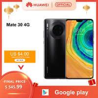 Originale Huawei Mate 30 Smartphone 40MP Triple Posteriore Telecamere 6.62 ''Schermo Intero Kirin 990 27W Senza Fili di Controllo di Qualità