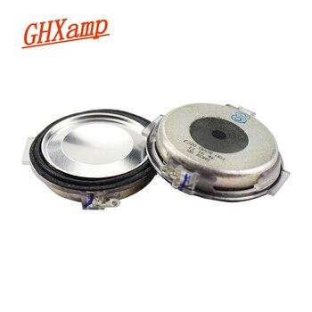 GHXAMP, altavoz de 2 pulgadas para coche, Unidad de rango medio de 8Ohm, altavoz medio Ultra delgado para coche, neodimio, buen Efecto vocal, 2 uds