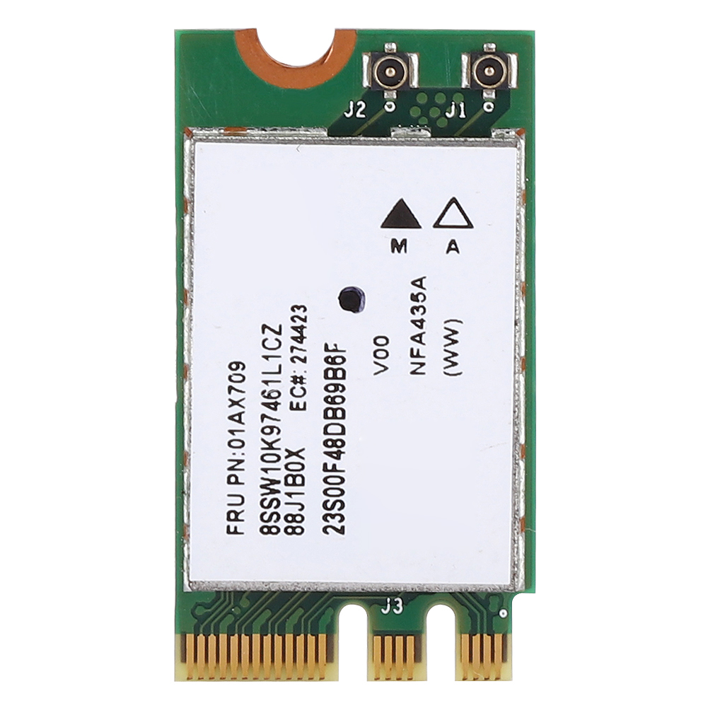 2.4G+5G Dual-Band Wireless Network Card QCNFA435 NGFF / M.2 Interface For Lenovo IdeaPad With Special Part Number FRU: 01AX709