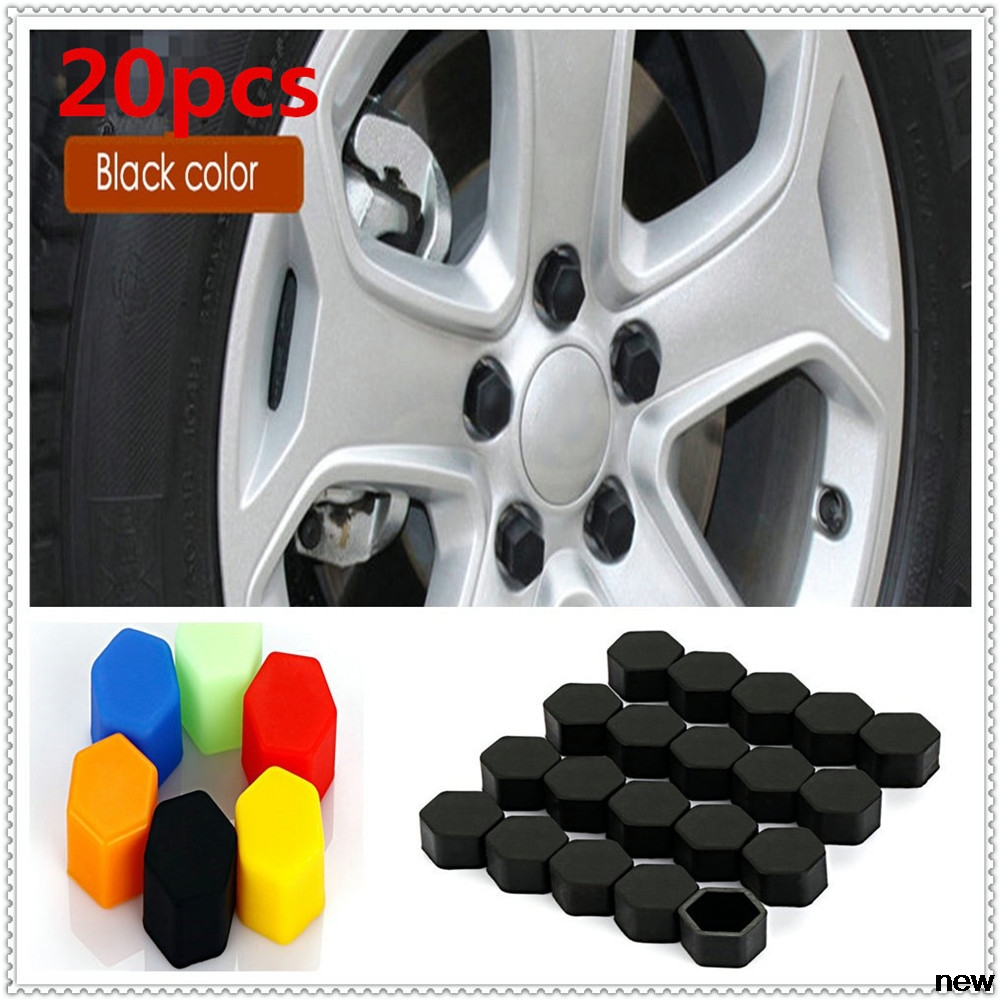 17/19/21mm <font><b>Silicone</b></font> <font><b>car</b></font> auto <font><b>Wheel</b></font> Hub Screw <font><b>Cover</b></font> <font><b>Nut</b></font> Cap for Volvo ReCharge Heico <font><b>car</b></font> autoesto T6 Toyota Infiniti V60 S60 XC60 image
