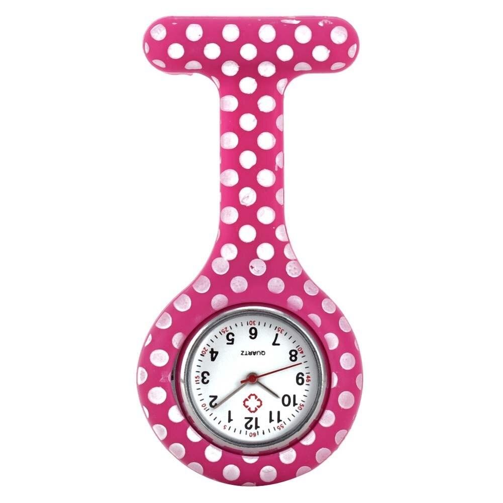 Часы для медсестер печатных Стиль клип на Fob Подвеска для броши карман висит врач-Медсестра Медицинские автоматические механические часы HSJ88 - Цвет: 13