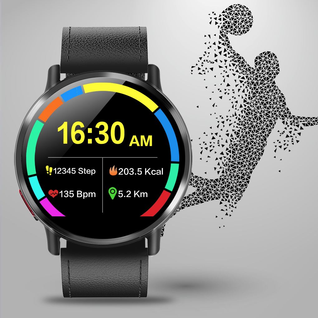 DM19 4G Waterproof Smart Watch with Android 2.03 Inch screen 900Mah battery 8MP Camera Bluetooth GPS maps For Men 4