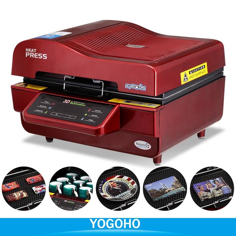 3D Sublimation Vacuum Machine, Sublimation /Heat Press Machine,Mug/T Shirt/Cell phone Case Printer,Cup/ Digital Printing Machine - 5