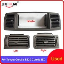 Auto A/C Klimaanlage Air Vent Outlet Panel Gitter Abdeckung Rahmen Fascia Ersatz Für TOYOTA Corolla EX Corolla e120 Dash Kit