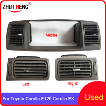 Car A/C Air Conditioning Air Vent Outlet Panel Grille Cover Frame Fascia Replacement For TOYOTA Corolla EX Corolla E120 Dash Kit