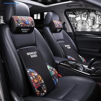 Chevrolet Explore Community the Only Neck Pillow Lumbar Support Pillow Set Interior Trim Car Supplies Memory Foam Neck Support P