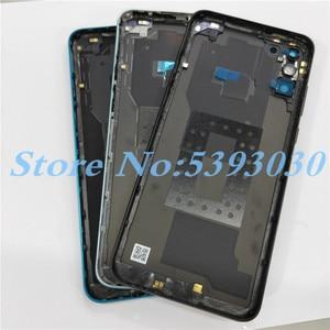 Image 2 - למעלה איכות עבור Huawei Honor 9A MOA LX9N חזרה סוללה כיסוי דלת שיכון מקרה אחורי חלקי עם מצלמה עדשה