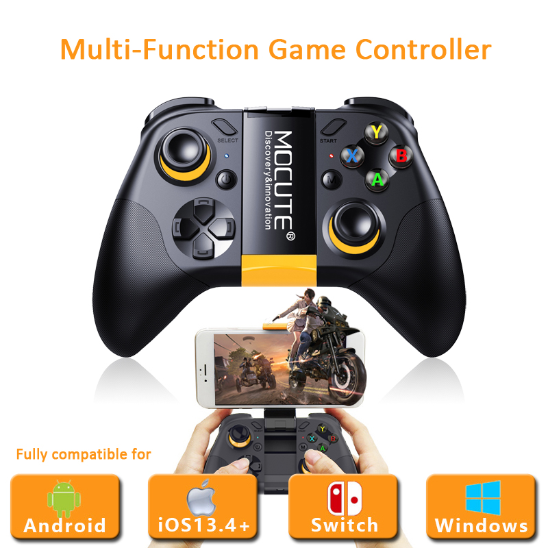 Mocute 054MX Game Controller Wireless Bluetooth GamePad Mobile Trigger Joystick for Nintend Switch/IOS13.4+/Android/PC