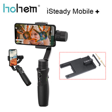 Hohem iSteady Mobile Plus Smartphone Stabilisateur de Cardan 3 Axes Cardan pour iPhone Android Huawei Samsung Gopro