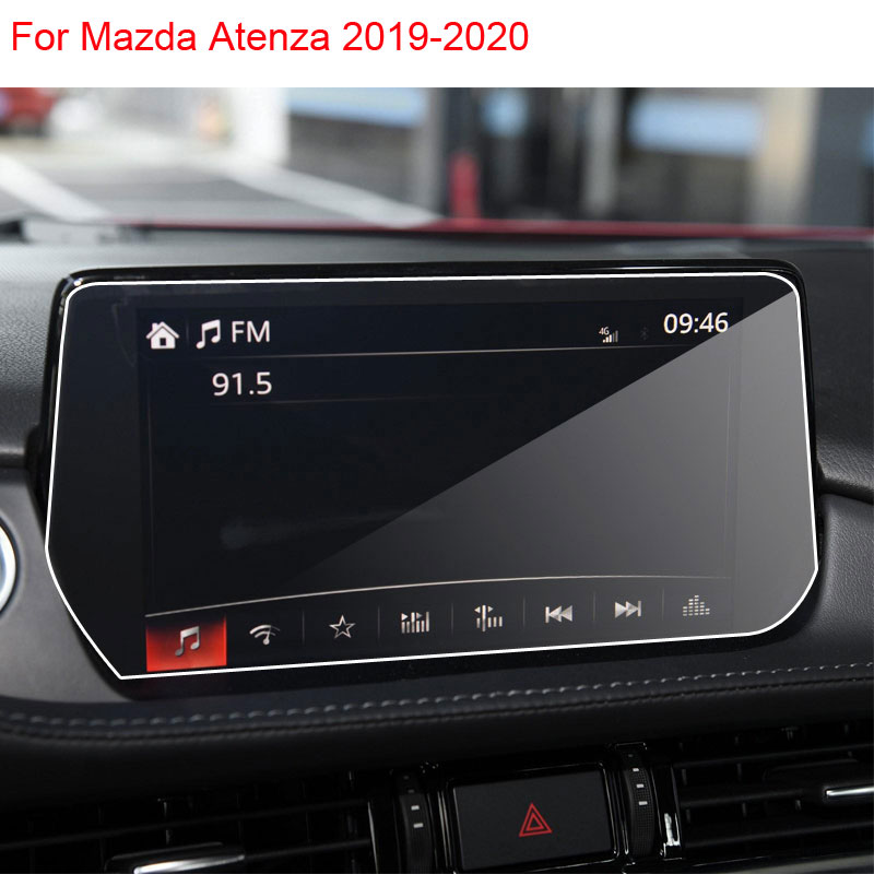 For Mazda 6 Atenza Interior 2014-2020 Car GPS Navigation Tempered Glass Screen Protector Film Portective Screen Auto Accessories