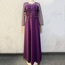 African Dresses For Women Elegant Maxi Dress Feminino O Neck High Waist Sweet Party Dress Spring Solid Color Women Long Dresses
