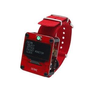 Image 2 - DSTIKE WiFi Deauther Armband Smart Uhr Tragbare ESP8266 Entwicklung Board Für Arduino Schwarz Orange