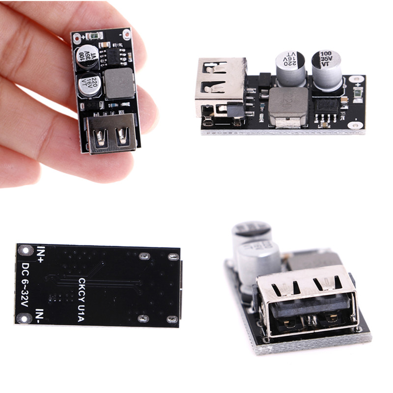 3V 5V 12V USB charge abaisseur Module QC3.0 QC2.0 DC-DC Buck convertisseur 6-32V 9V 12V 24V à chargeur rapide Circuit imprimé