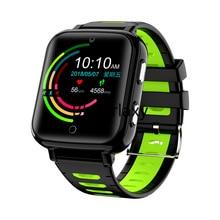 4G GPS สมาร์ทเด็กนักเรียนนาฬิกาข้อมือวิดีโอ Heart Rate เครื่องวัดความดันโลหิต Tracker Location Android 6 โทรศัพท์นาฬิกา