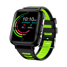 4G Smart GPS Kids Student Camera Wristwatch Video Call Heart Rate Blood Pressure Monitor Tracker Location Android 6 Phone Watch