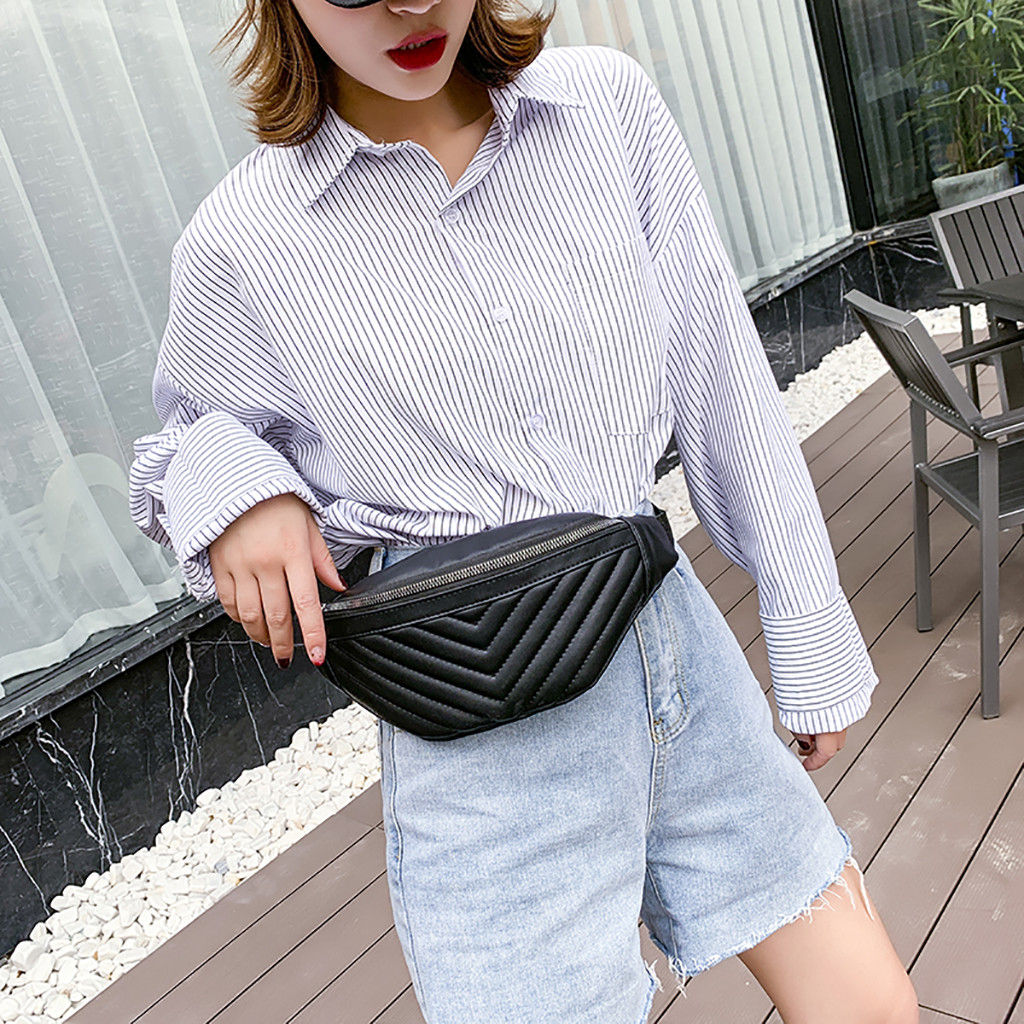 2019 New Elegant Waist Bag For Women Joker Simple Crossbody Fashion Chest Pocket Pocket Shoulder Bag Hand Bags