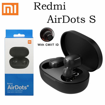 Original Xiaomi Redmi AirDots S Bluetooth Earphone Wireless Bluetooth V5.0 Sport Noiseing Reduction Mi Ture Earbuds Headset