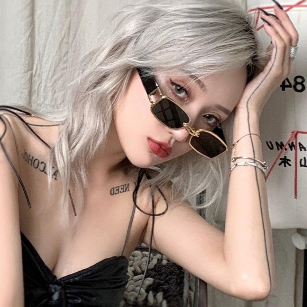 Купить очки солнцезащитные женские в стиле хип хоп uv400