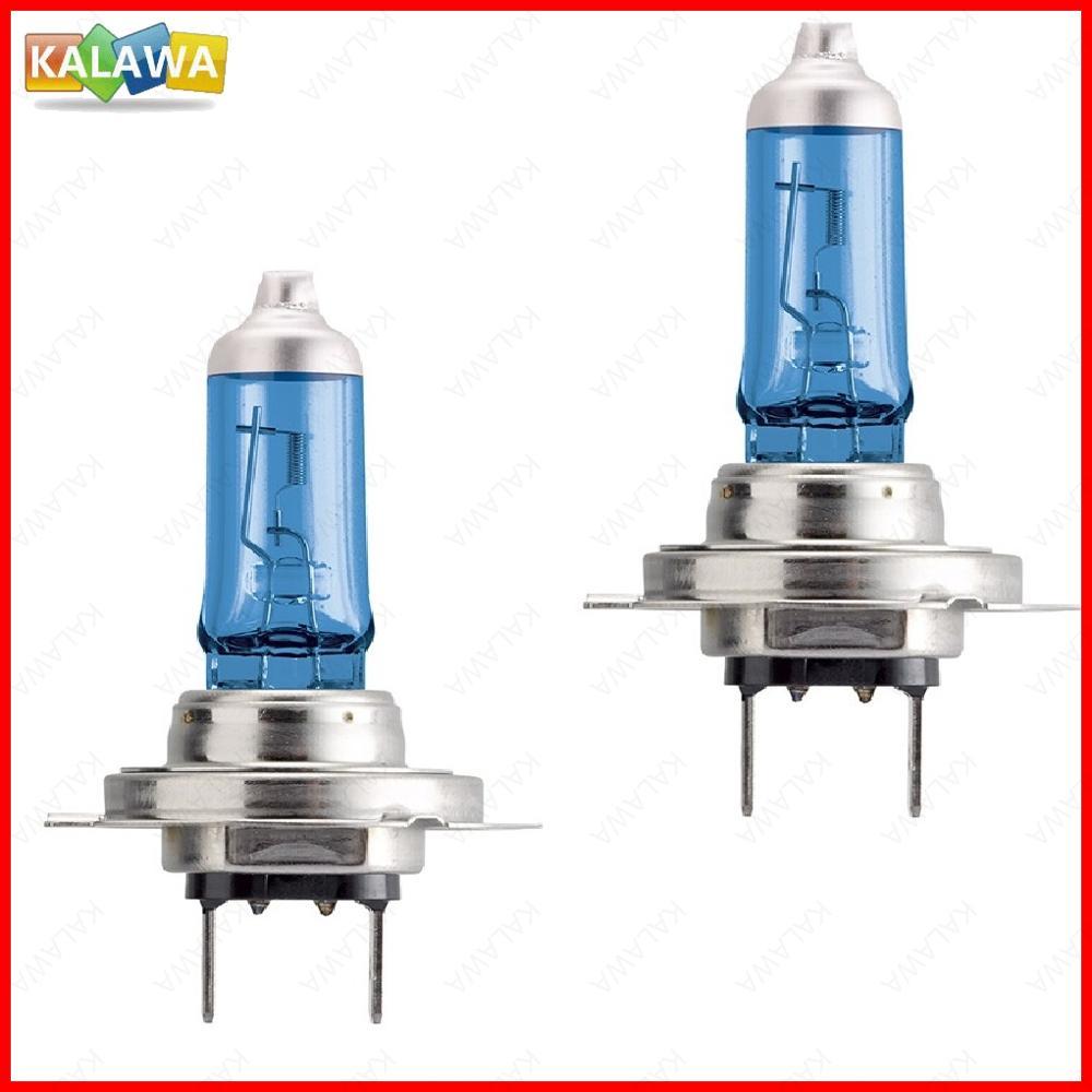 2X Car Light H7 Crystal Blue Automobile Halogen lamp bulb 55W 100W 12V Super White Headlights Lamp F