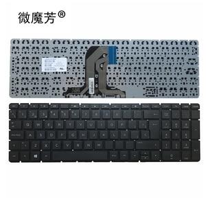 Испанская SP Клавиатура для ноутбука HP Pavilion 15-AC 15-AF 250 255 256 G4 PK131EM2A05 SN7145 SG-81300-XXA TPN-C126 RTL8723BE