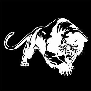 Pegatina de tigre para caza y motocicleta, pegatinas de vinilo para decoración de animales para coche, pegatinas y calcomanías impermeables para carrocería de coche, diseño de coche