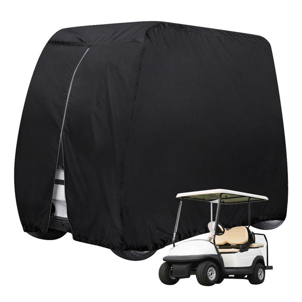 Hem Oxford Cloth Protect Practical 4 Passenger Body Waterproof Buckle Outdoor Sports Golf Cart Cover Accessories Dust Prevention