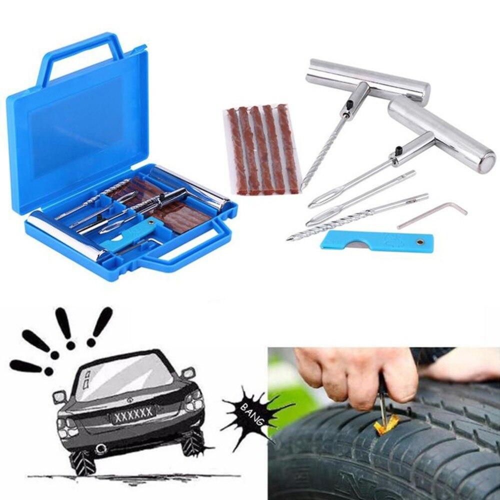 Все стальные Шины Железный штифт ручка шиномонтаж запасные штифты Резина шины мотоцикла шины Инструменты для ремонта шин 11 шт