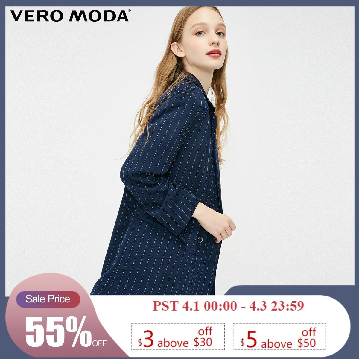 Vero Moda New Women's Double-breasted Thin Blazer   319108503