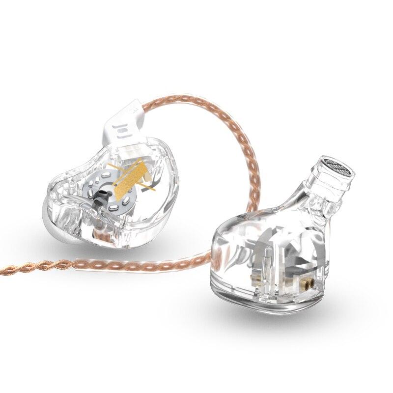 Проводные наушники KZ EDX, Hi-Fi наушники-вкладыши с монитором, спортивные наушники для бега, Спортивная гарнитура для ZSN PRO X ZS3 ZSX ZST X ZAX