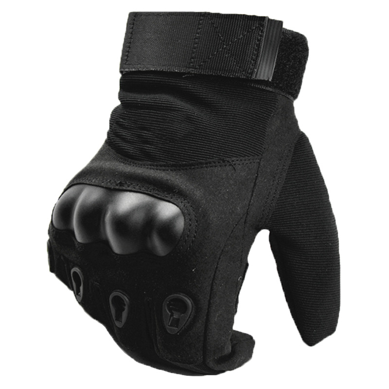Army Military Tactical Gloves Men Winter Full Finger Hard Knuckle Gloves Paintball Airsoft Shoot Combat Anti-Skid Bicycle Gloves 1