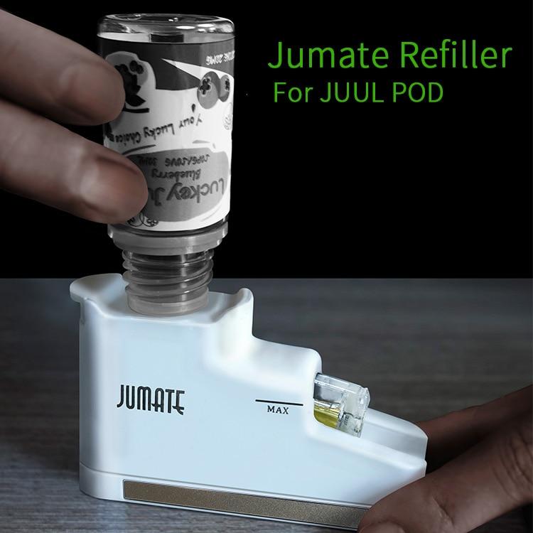 Original Jumate Refiller For JUUL Pods Refillable Tools Electronic Cigarette Vape Accessories