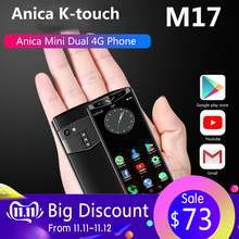 Anica K-Touch M17 mini 4G smartphone 3.5 Inch 3GB RAM 32G/64G ROM Android 8.1 Fa