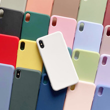 Coque de téléphone de marque de luxe française pour filles, couleur bonbon blanche, Design pour iPhone 6 7 8 11 12 s mini pro X XS XR MAX Plus