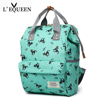 LEQUEEN Diaper Bag Fashion Mummy Maternity Nappy Bag Brand Baby Travel Backpack Diaper Organizer Nursing Bag For Baby Stroller multifunctional portable baby diaper bag mummy maternity diaper nappy backpack baby travel stroller diaper bag nursing organizer