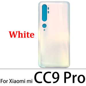 Image 2 - 10 Pcs/Lot Back Glass Battery Cover Rear Door Housing Case For Xiaomi Mi Note 10 / Note 10 / Mi CC9 Pro With Glue Adhesive